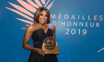 Media Mogul Mo Abudu Receives Medaille D'honneur at MIPTV 2019