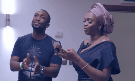 "Watch Waje and Darey Art Alade Perform "" A Whole New World"""