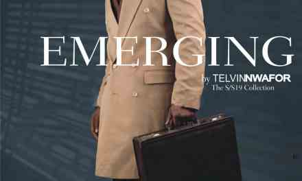 "Telvin Nwafor Showcases New Collection ""Emerging"" For Timeless Man"