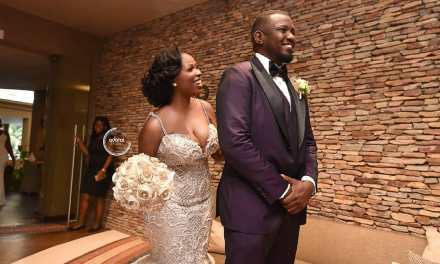 See Photos from John Dumelo and Gift Mawuenya's Wedding
