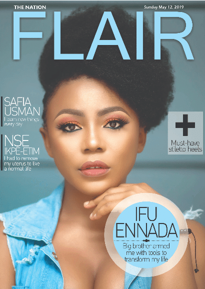 Ifu Ennada Is Stunning On The Cover of Flair Magazine