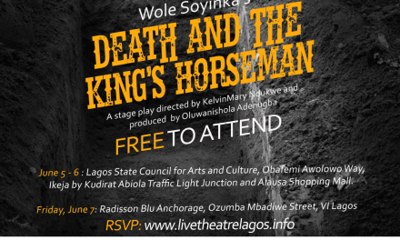 Live Theatre Lagos Presents Wole Soyinka's 'Death & The King's Horseman'