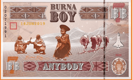 Burna Boy Unveils Tour Dates For 'The African Giant Returns'