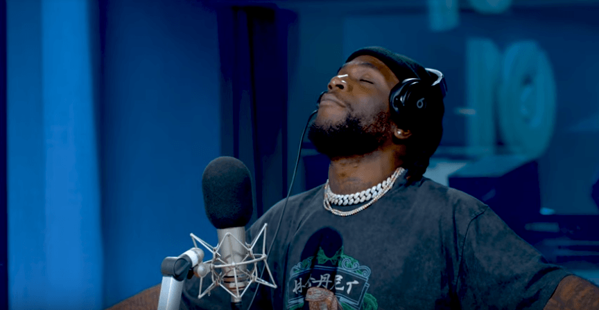 Burna Boy Explains Meaning of His Stage Name in Interview With Beats 1 Radio UK