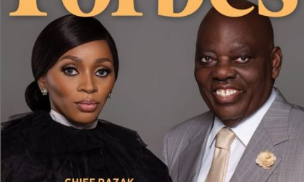 Rasak and Shade Okoya Are The Power Couple On Forbes Africa Magazine Cover