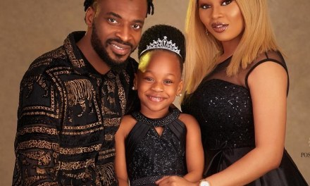 Awwn! 9ice & His Family Look Adorable In Photos For His Daughter's Birthday
