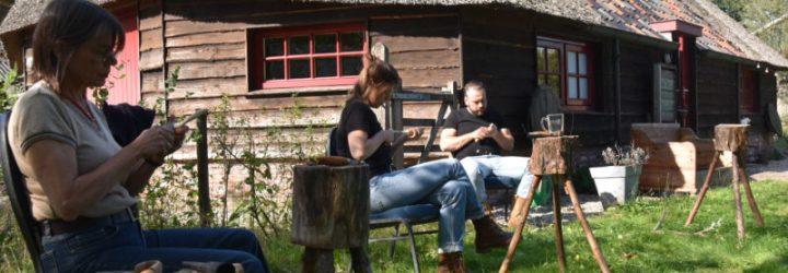Voorjaarsworkshop lepel snijden