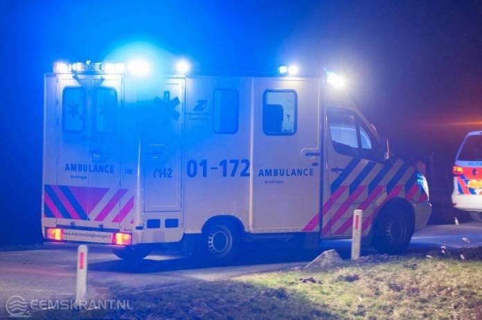 Twee personen om het leven gekomen bij ongeval op de N999 in Eppenhuizen