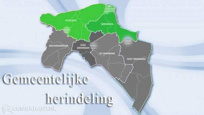 Vervolgproces herindelingsverkenning Noord-Groningen