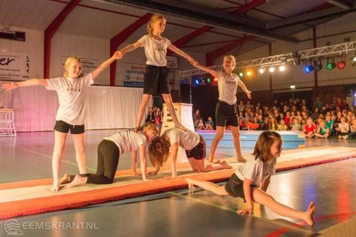 Geslaagde uitvoering Sportvereniging Appingedam in sporthal Eelwerd