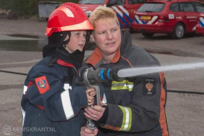 CBS de Citer op bezoek bij brandweer Delfzijl