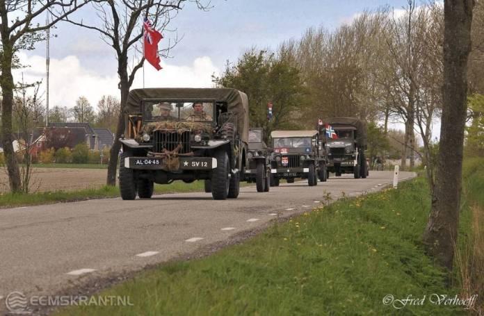Bevrijdingstour door de gemeente Delfzijl