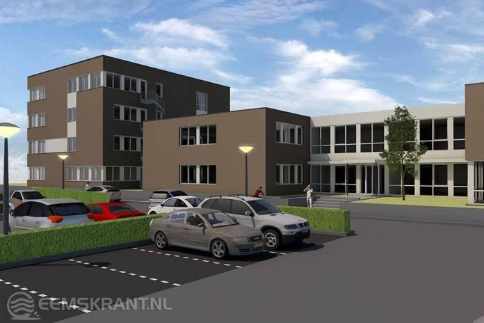 Bouw uitbreiding pand Centrum Veilig Wonen in Appingedam gestart