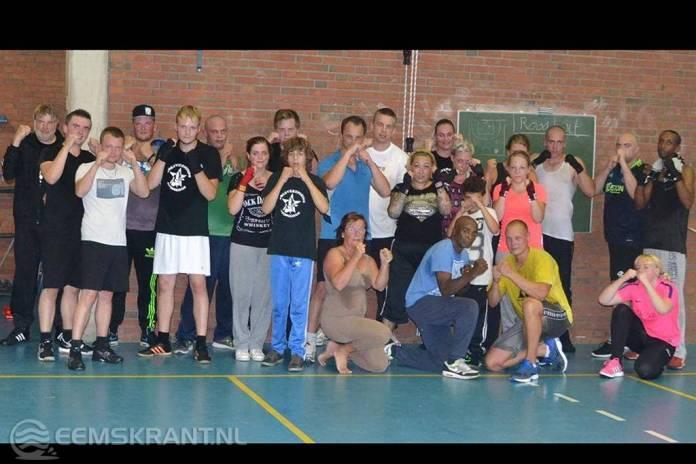 Succesvolle open dag boksvereniging Appingedam