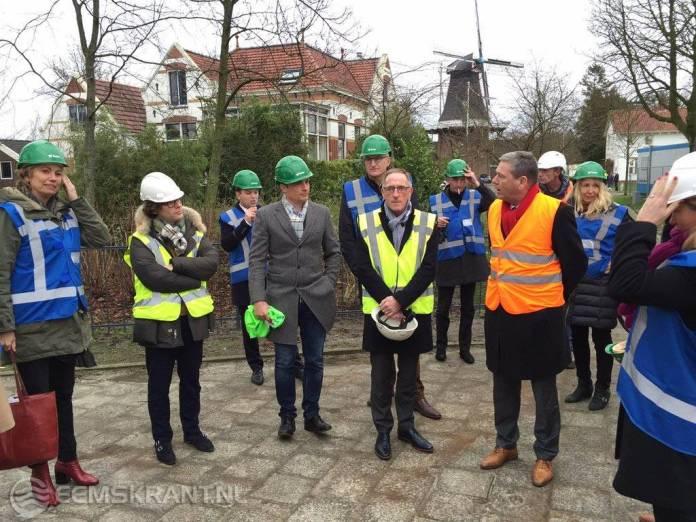 Tweede Kamercommissie Economische Zaken bezoekt provincie Groningen