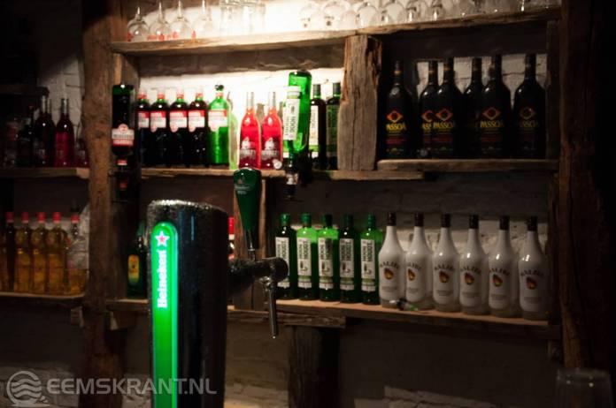 Overtreding van de Drank en Horecawet bij Café in Siddeburen