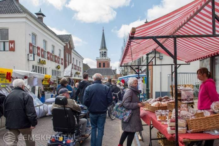 Gezellige jaarmarkt in Appingedam