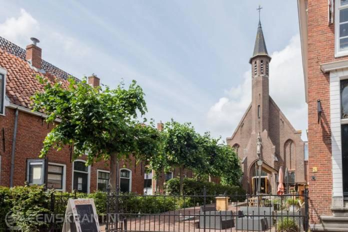 Restaurant in kerkje Nicolaas na overname door de Vesting