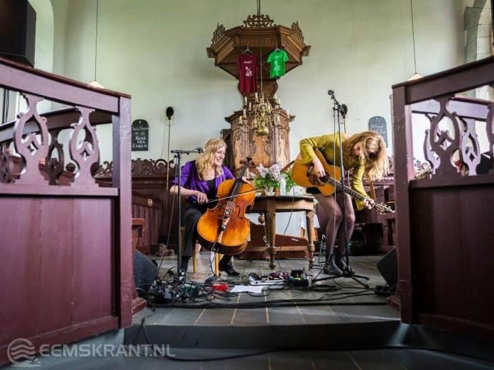 Historische kerkgebouwen podium en decor voor intieme optredens