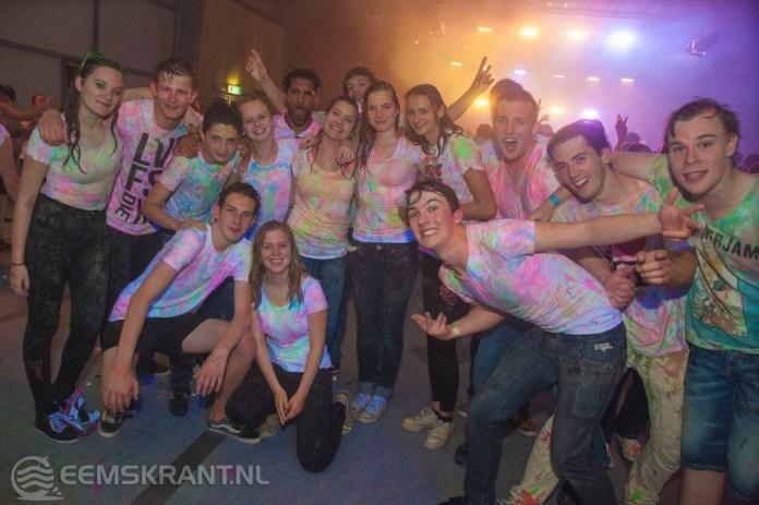 Color sensation Paint party in de evenementenhal