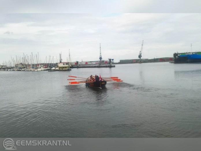 Leerlingen Noorderpoort Energy & Maritime doen mee aan HT Roeirace