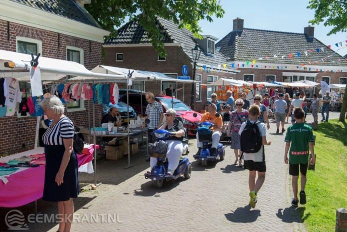 Feestweek in Spijk afgesloten met Jaarmarkt
