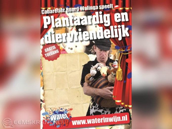 Cabaretier Ruurd Walinga met show in de Nicolaikerk