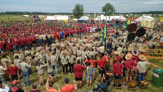Scouts terug van Pinksterkamp op Lauwersoog