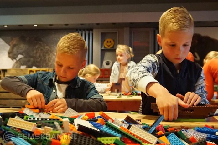 Grote Lego bouwwedstrijd in het Doe Museum Veendam