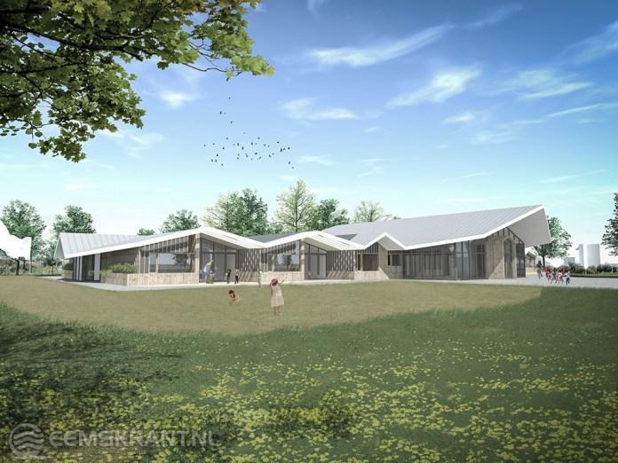 Onix architecten ontwerpt Kindcentrum Wagenborgen
