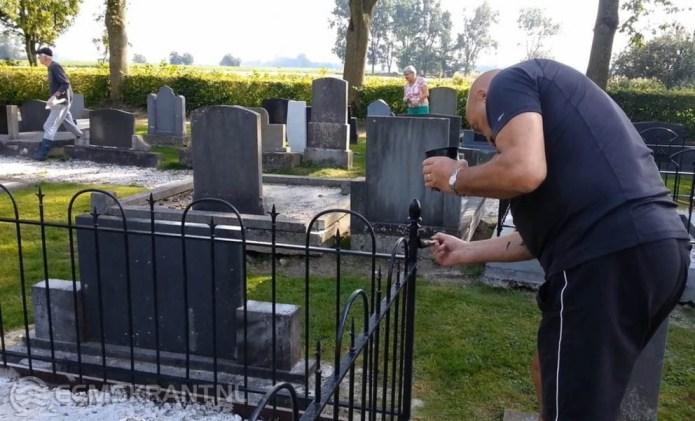 Open dag begraafplaats Westeremden