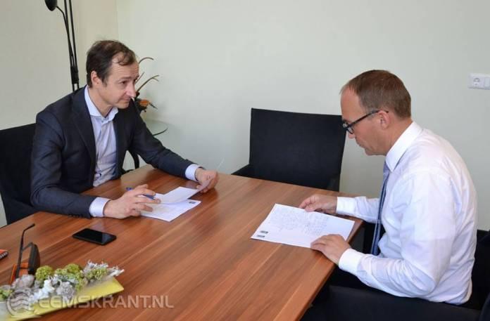 Minister Wiebes neemt ervaringsverhalen actievoerders tegen gaswinning in ontvangst