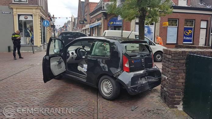 Ongeval in het centrum van Appingedam