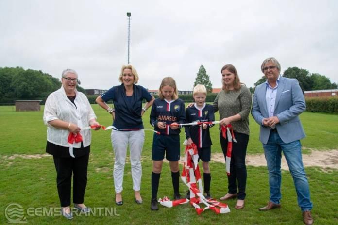 Startschot gegeven voor aanleg kunstgrasvelden Burgemeester Welleman sportpark in Appingedam
