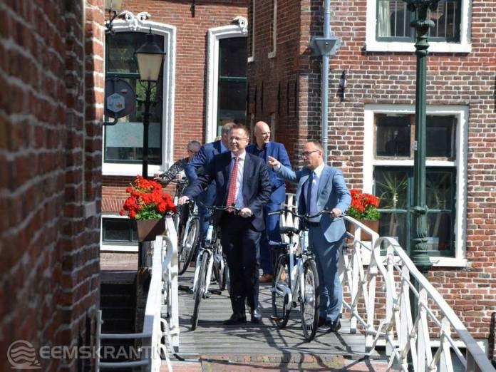Werkbezoek commissaris van de Koning aan Appingedam