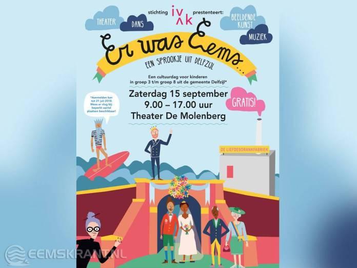Inschrijving Kindercultuurdag 'Er Was Eems' verlengd tot  3 augustus
