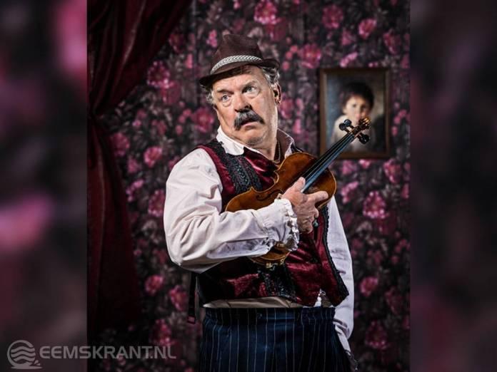 Cabaretier Bert Visscher opent dinsdag 18 september het theaterseizoen van de Molenberg