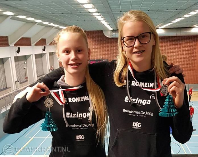 Goed begin indoor atletiek seizoen Jill Uilhoorn en Maud Visscher
