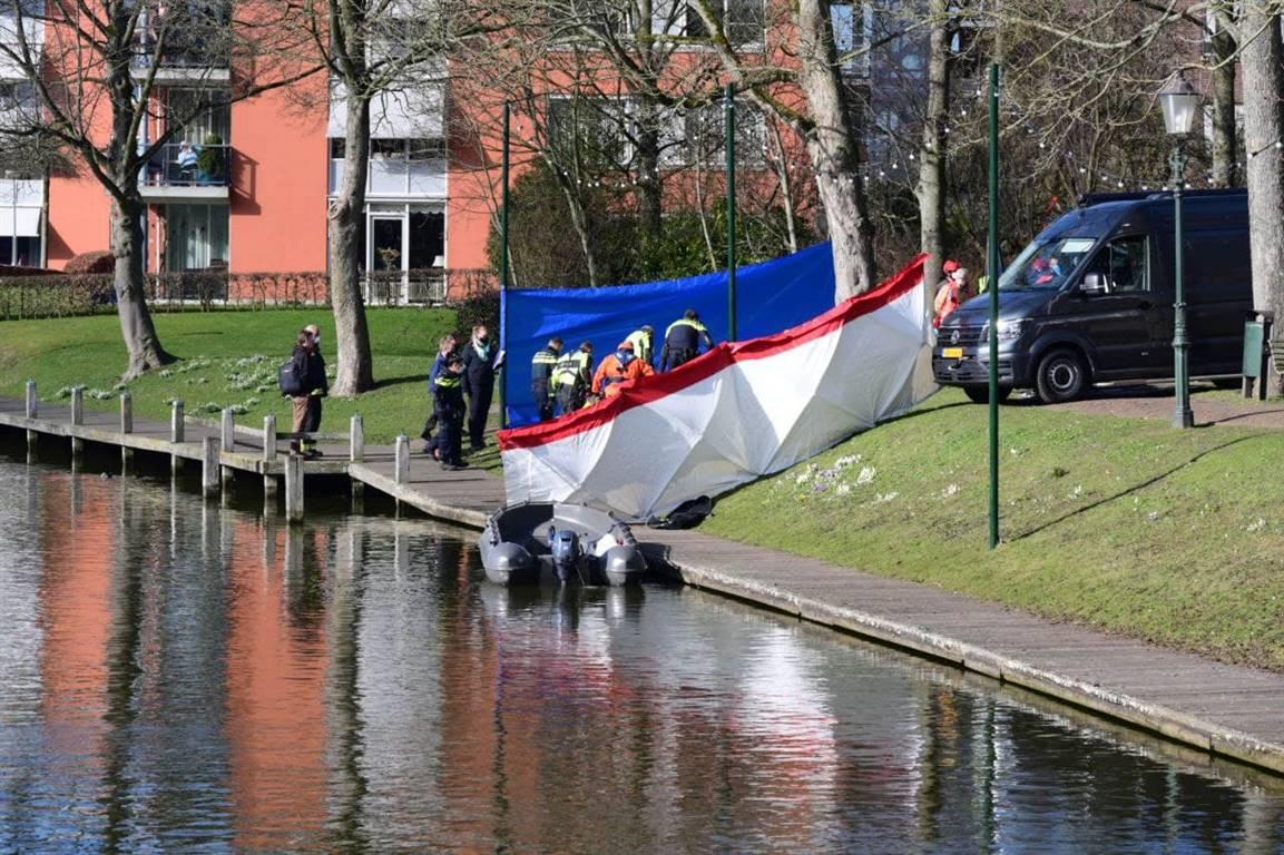 Politie rondt onderzoek naar aangetroffen lichaam in water Appingedam af: geen misdrijf -.