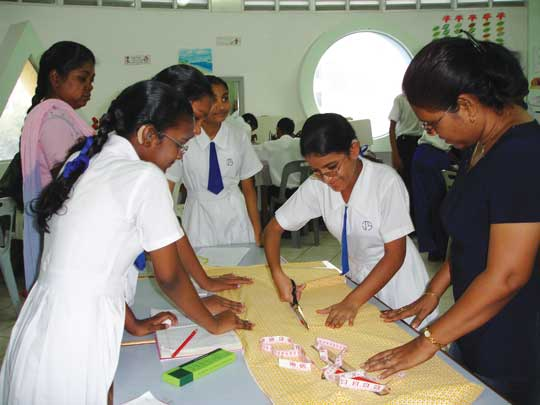Vocational education for children with hearing impairments