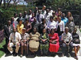 Meeting participants, Nairobi