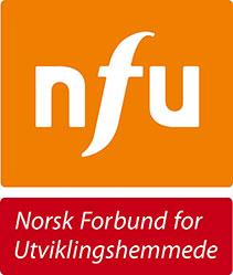 Norwegian Association for Persons with Developmental logo