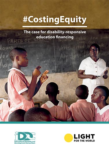 #CostingEquity. The case for disability-responsive education financing (full report)