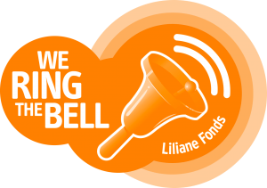 We Ring The Bell campaign logo worsd with a handbell image)