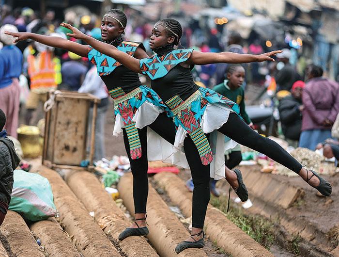Dancing in Kibra