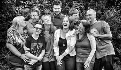 spontane familiefoto Hoofddorp
