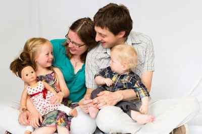 gezinsportret thuis Nieuw-Vennep fotograaf