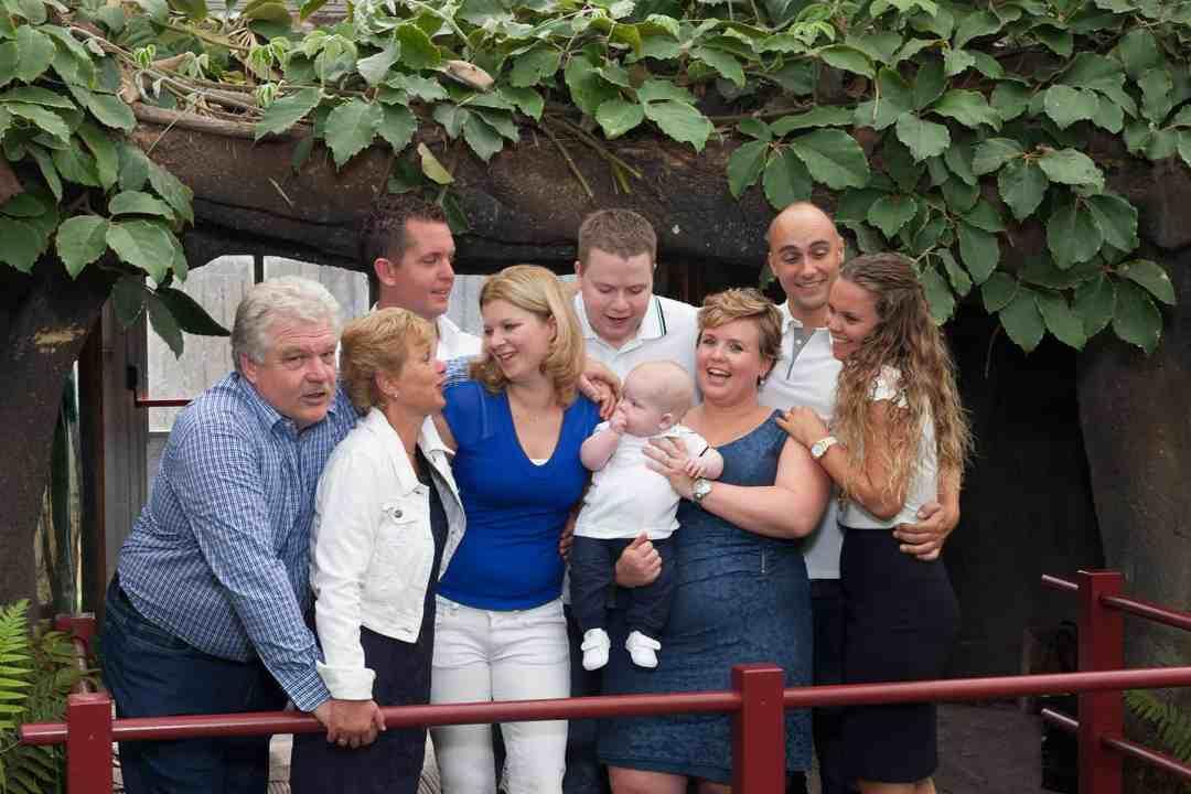 familiefotografie fotoshoot portret tropische kas Burgerveen