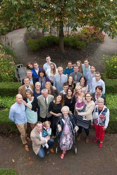 Familiefoto's met oma