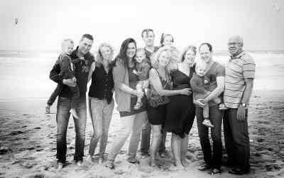 Fotoshoot strand Zandvoort